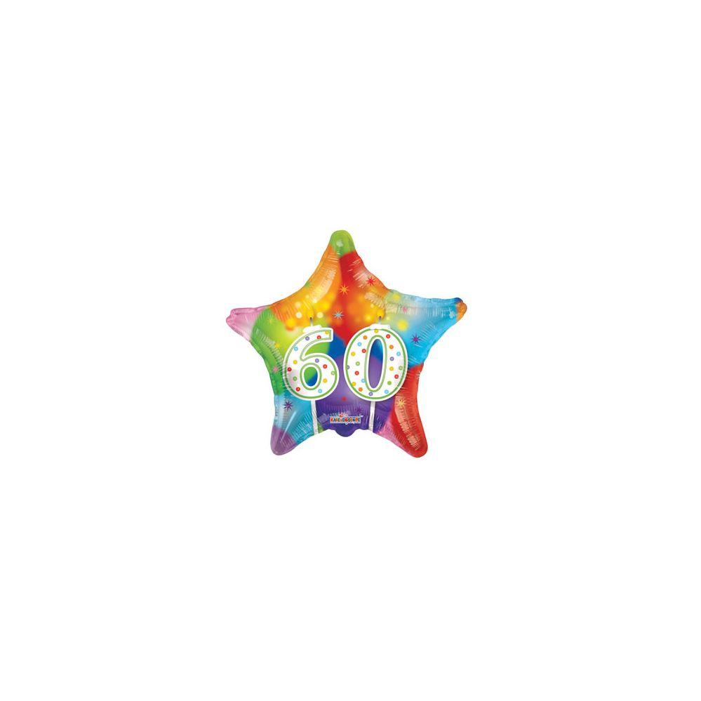 100 Units of CV 18 DV Candles #60 Star - Balloons/Balloon Holder