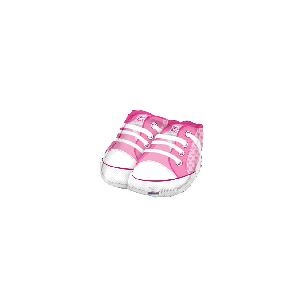100 Units of CV 18 DS Baby Girl Shoes Shape Balloon