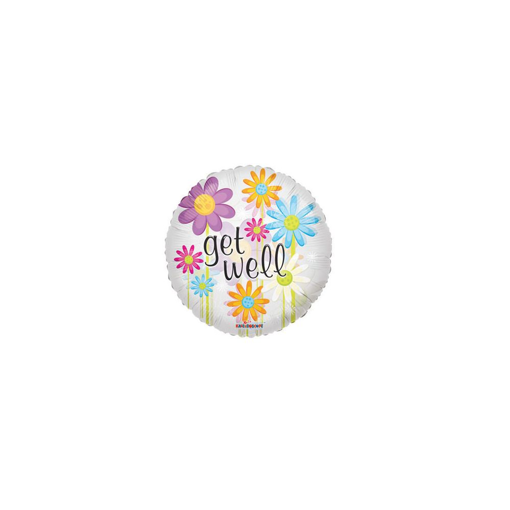 100 Units of CV 18 DS Get Well Daisies CLV - Balloons/Balloon Holder