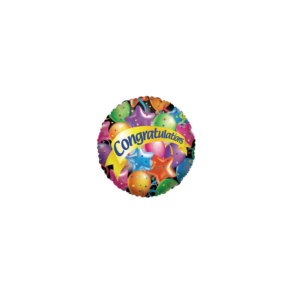 100 Units of CV 18 DS Congrats w/Balloons