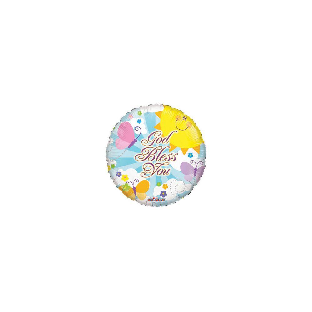 100 Units of CV 18 DS God Bless YouCV 18 DS God Bless You - Balloons/Balloon Holder