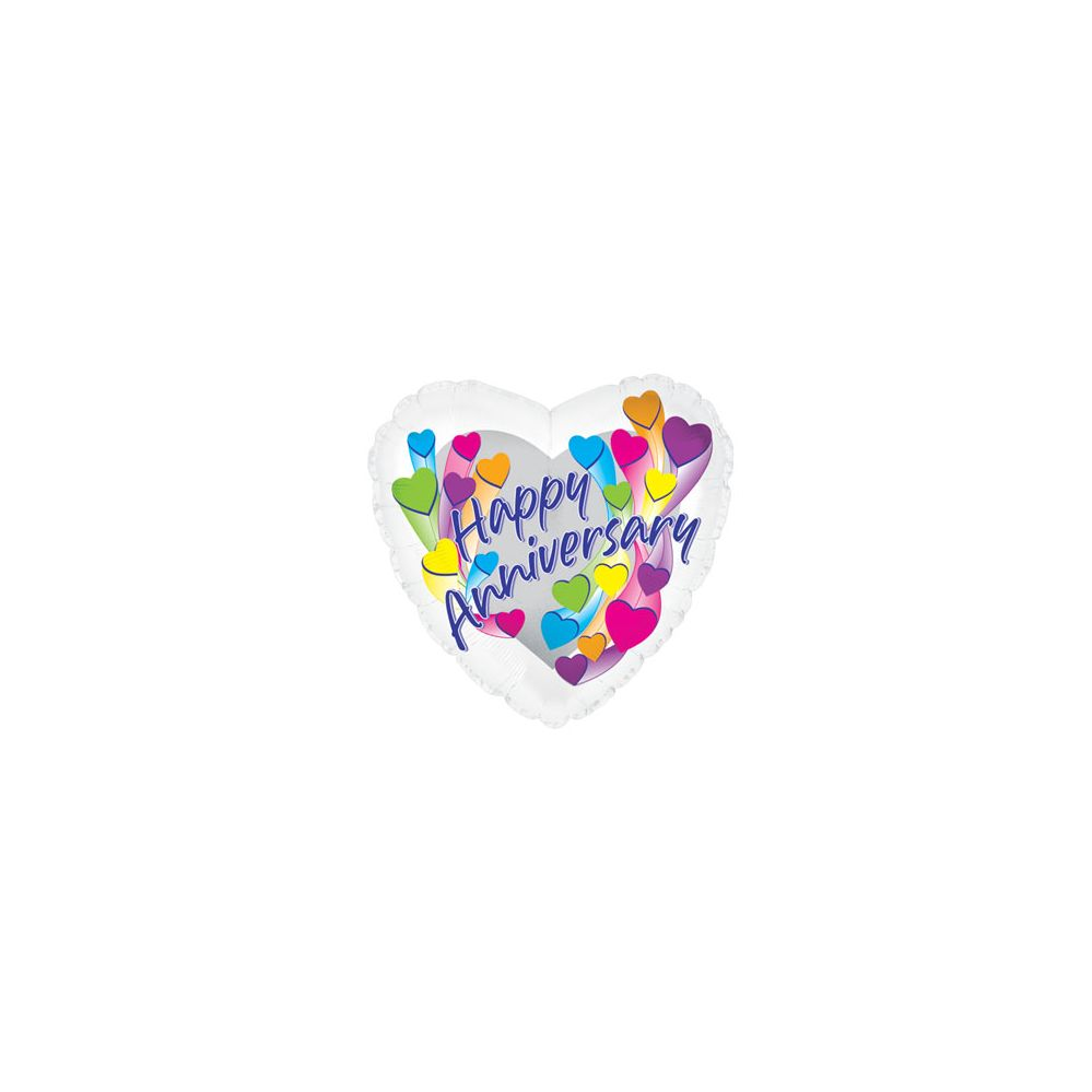 100 Units of CT 17 DS Anniversary Shootg Hearts - Balloons/Balloon Holder