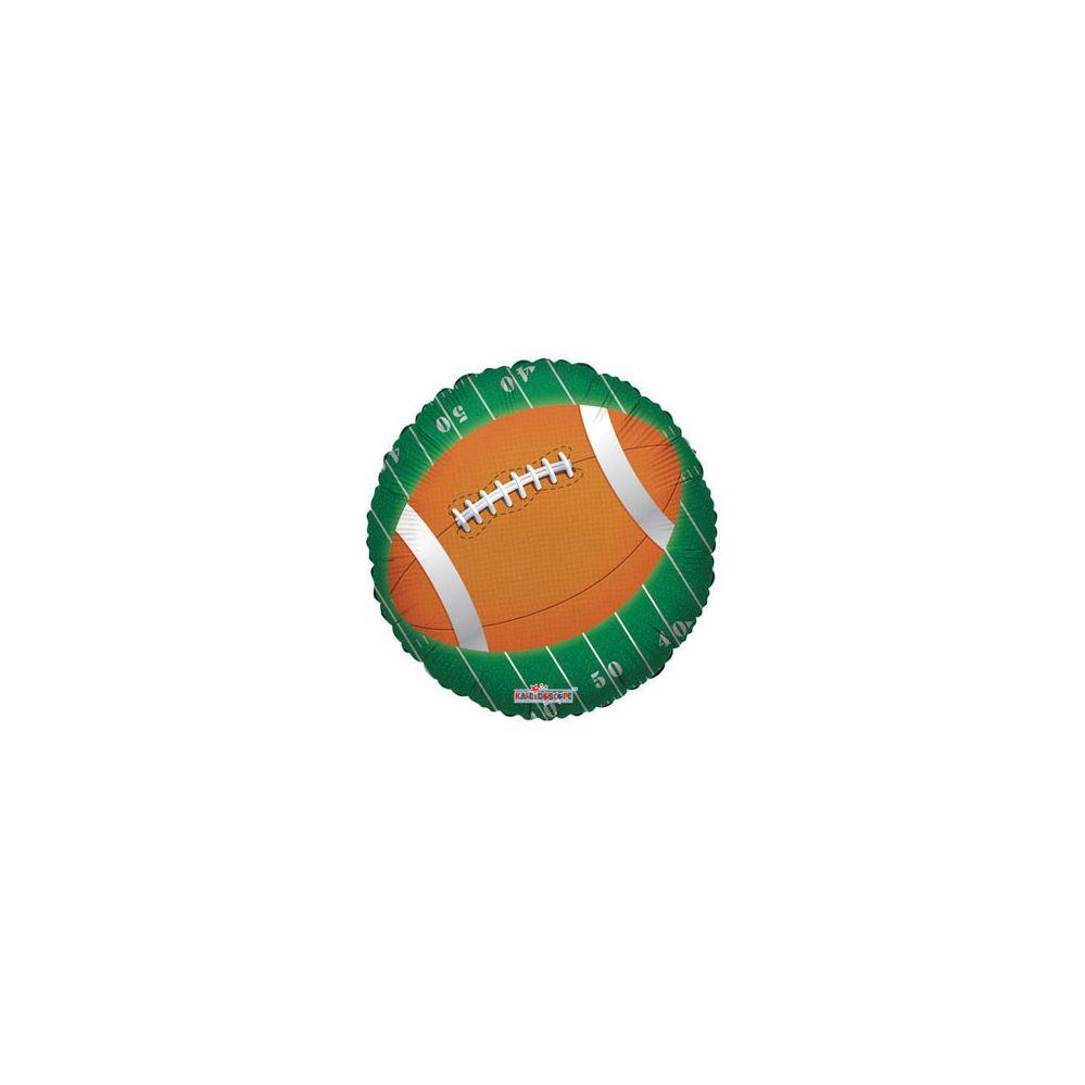 100 Units of CV 18 SS Football On Field - Balloons/Balloon Holder