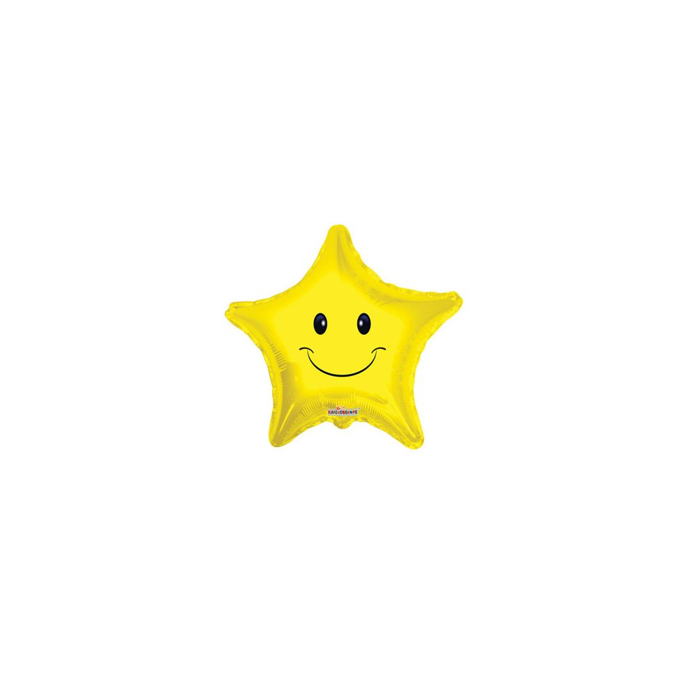 100 Units of CV 18 DS Smiley Face Star