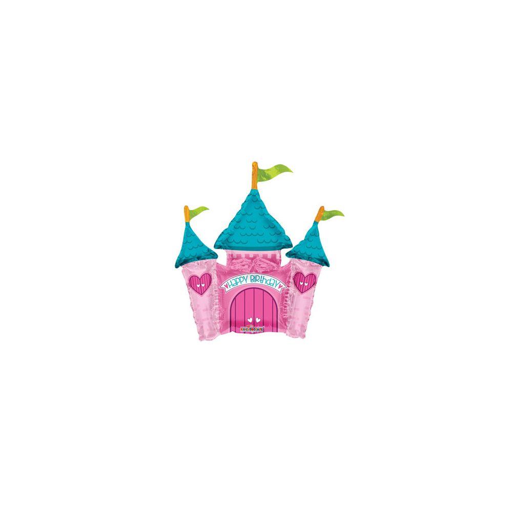 100 Units of CV 14 DS Princess Castle Mini Shape - Balloons/Balloon Holder
