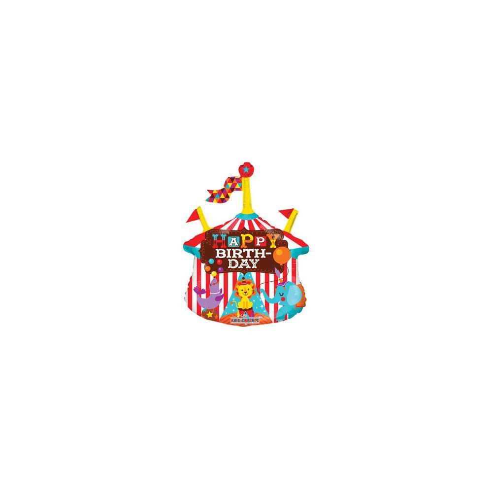 100 Units of CV 14 DS Circus B-Day Mini Shape - Balloons/Balloon Holder