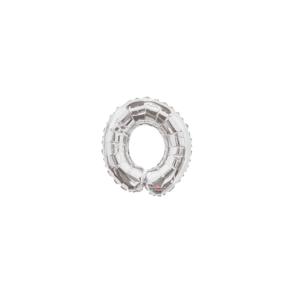 100 Units of CV 14 DS Silver Number 0 - Balloons/Balloon Holder
