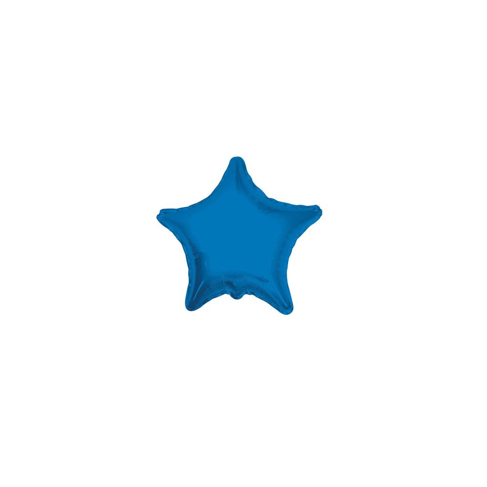 100 Units of CV 18 DS Star Royal Blue - Balloons/Balloon Holder
