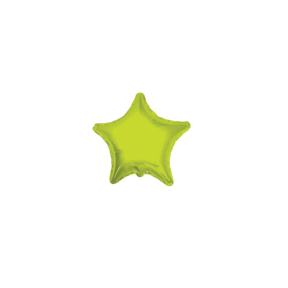 100 Units of CV 18 DS Star Lime Green - Balloons/Balloon Holder