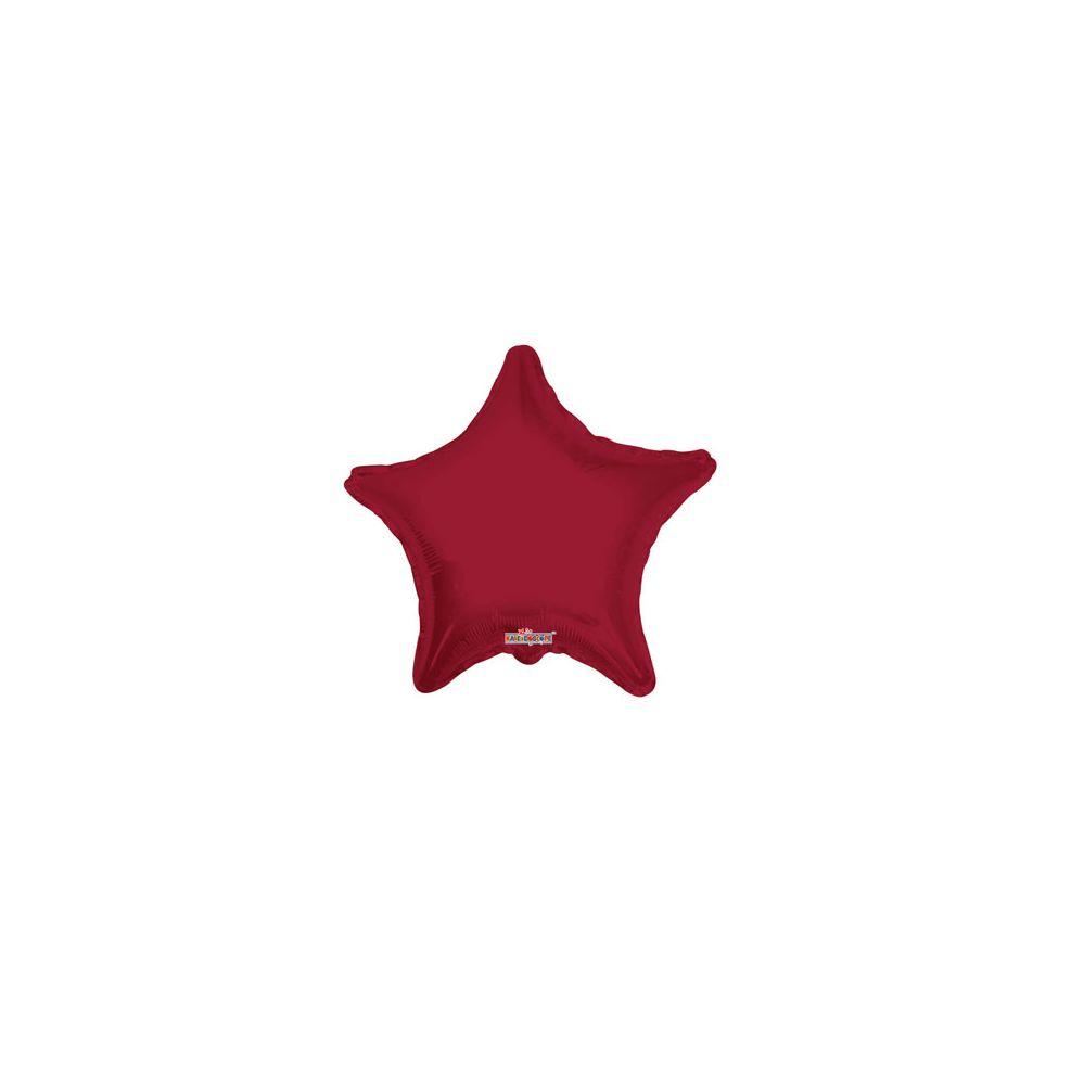 100 Units of CV 18 DS Star Burgundy - Balloons/Balloon Holder