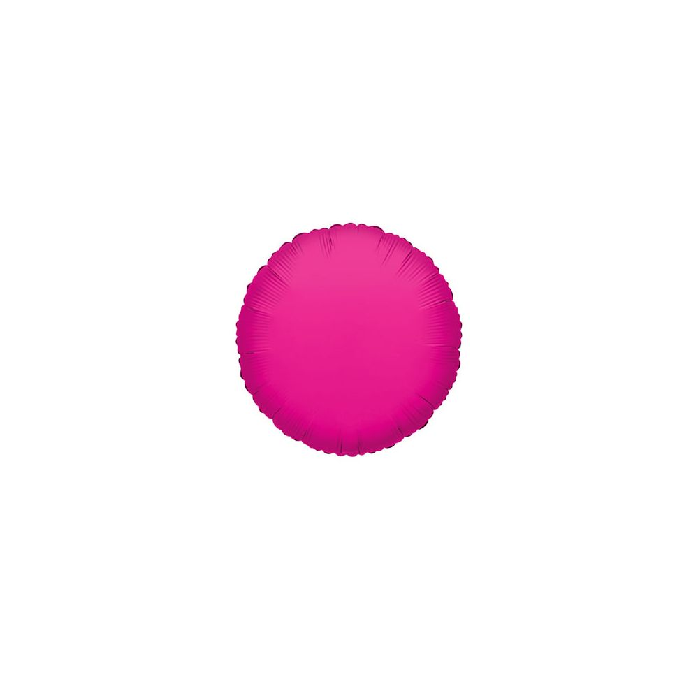 100 Units of CV 18 DS Round Hot Pink - Balloons/Balloon Holder