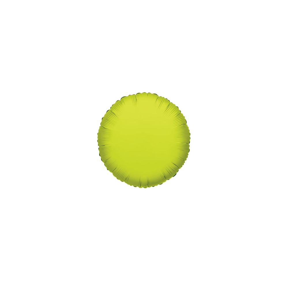 100 Units of CV 18 DS Round Lime Green - Balloons/Balloon Holder