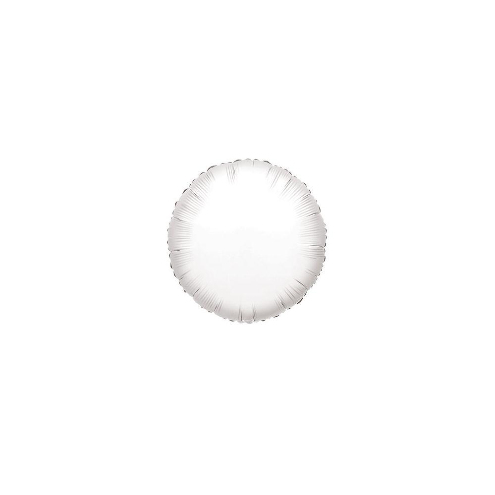 100 Units of CV 18 DS Round White - Balloons/Balloon Holder