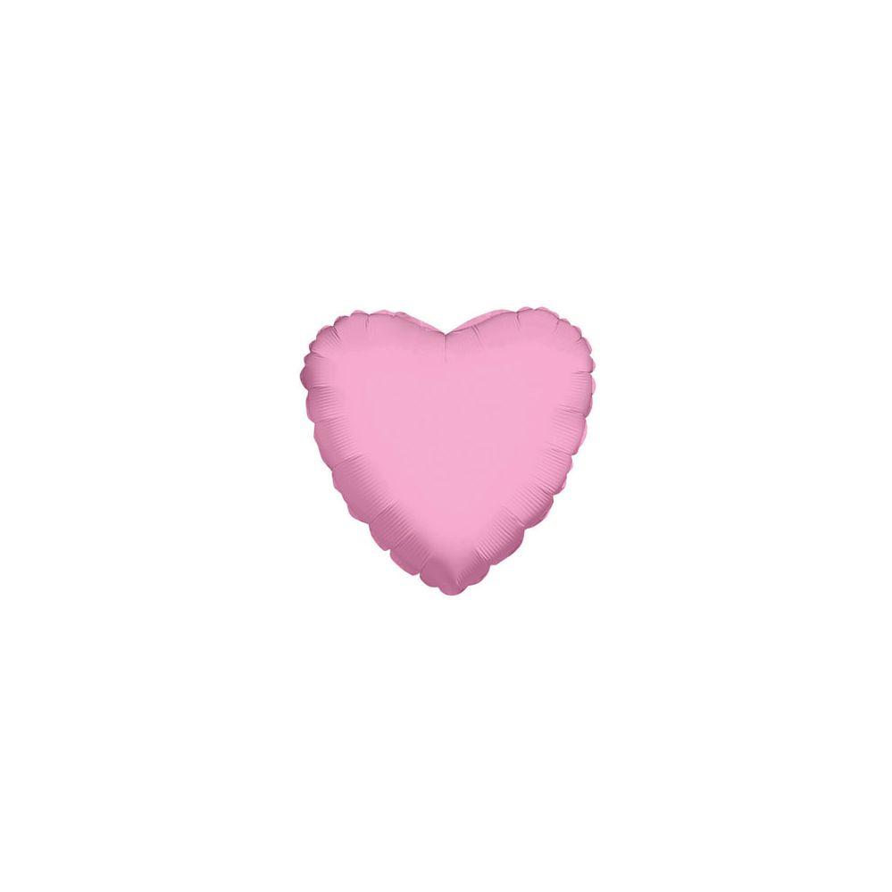 100 Units of CV 18 DS Light Pink Heart - Balloons/Balloon Holder