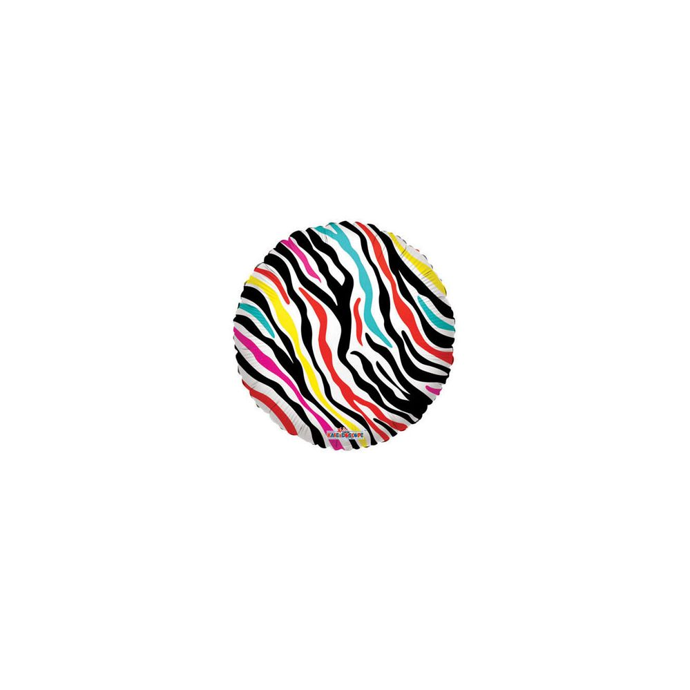 100 Units of CV 18 DS Decorative Zebra Pattern - Balloons/Balloon Holder