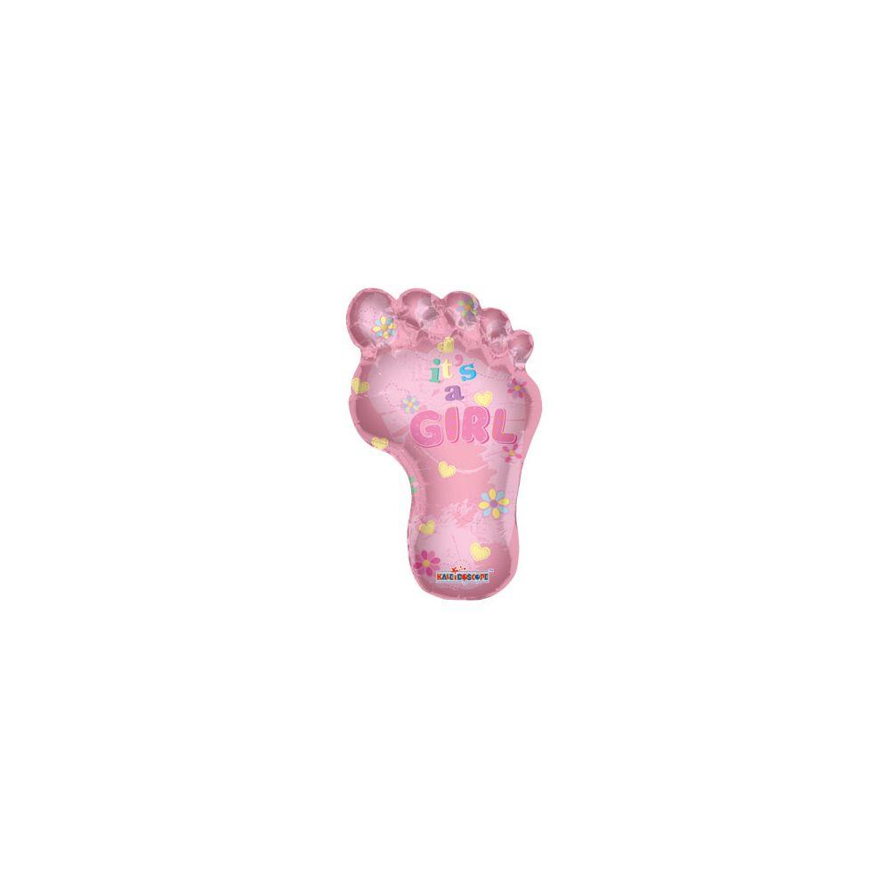 100 Units of CV 36 Pkg JS Baby Girl Footprint