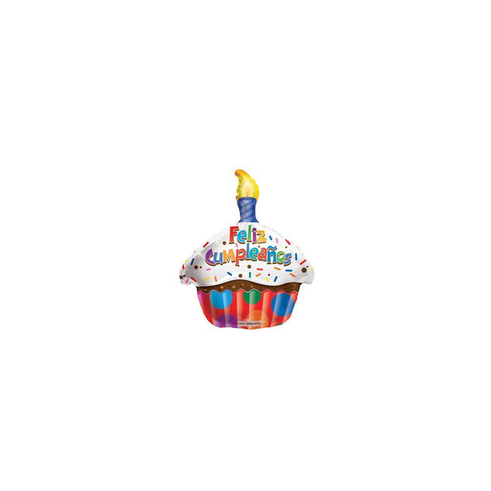 100 Units of Feliz Cumpleanos Cupcake