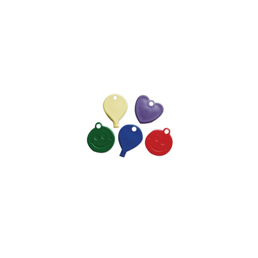 10 Units of Wght Asst shape/Prim Clrs 30Gr 50Ct - Balloons/Balloon Holder