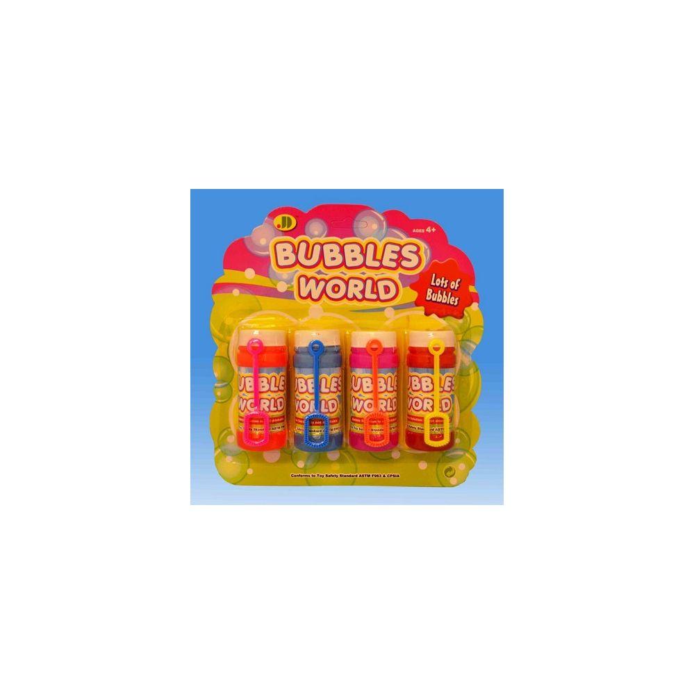 108 Units of 4pcs Bubble fun set in blister card - Bubbles