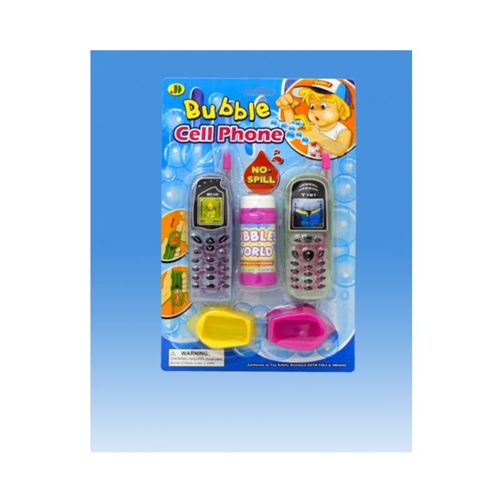 108 Units of Cell phone Bubble set in blister card - Bubbles
