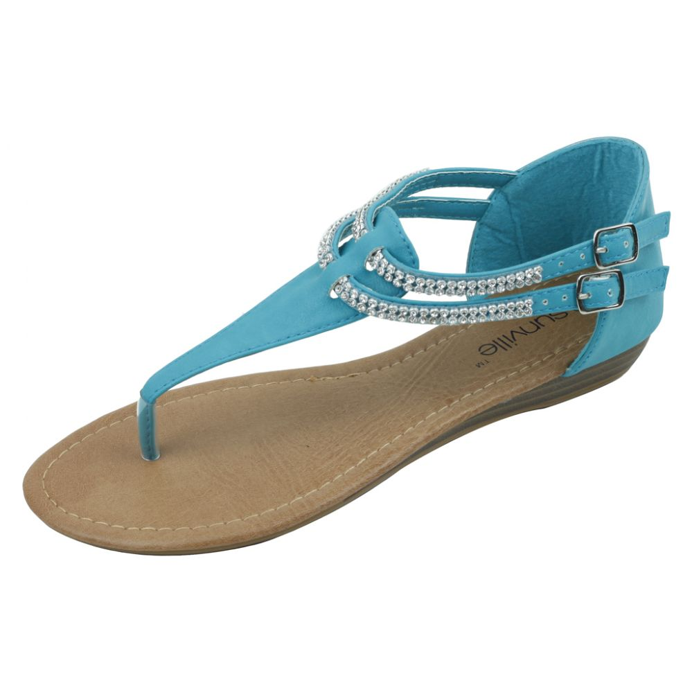 18 Units of Ladies Fashion Sandal Tuirquoise