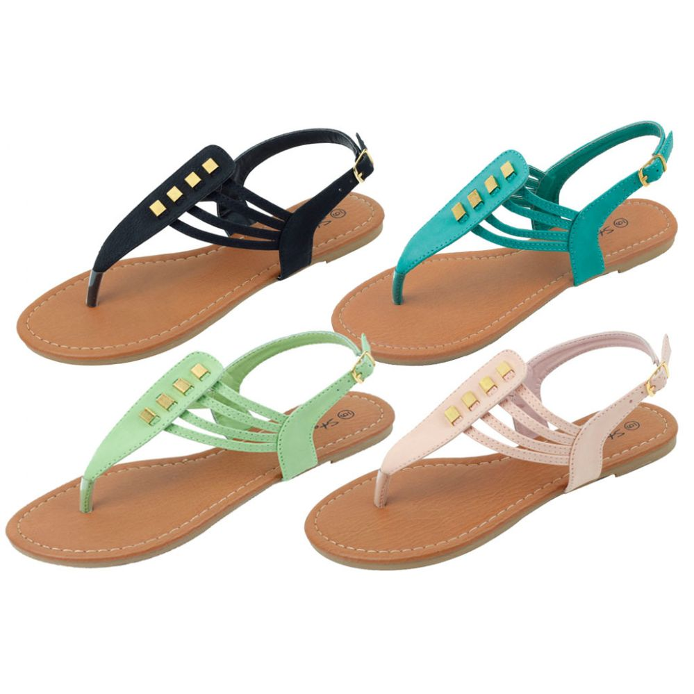 36 Units of Ladies' Fashion Sandals Size 5-10