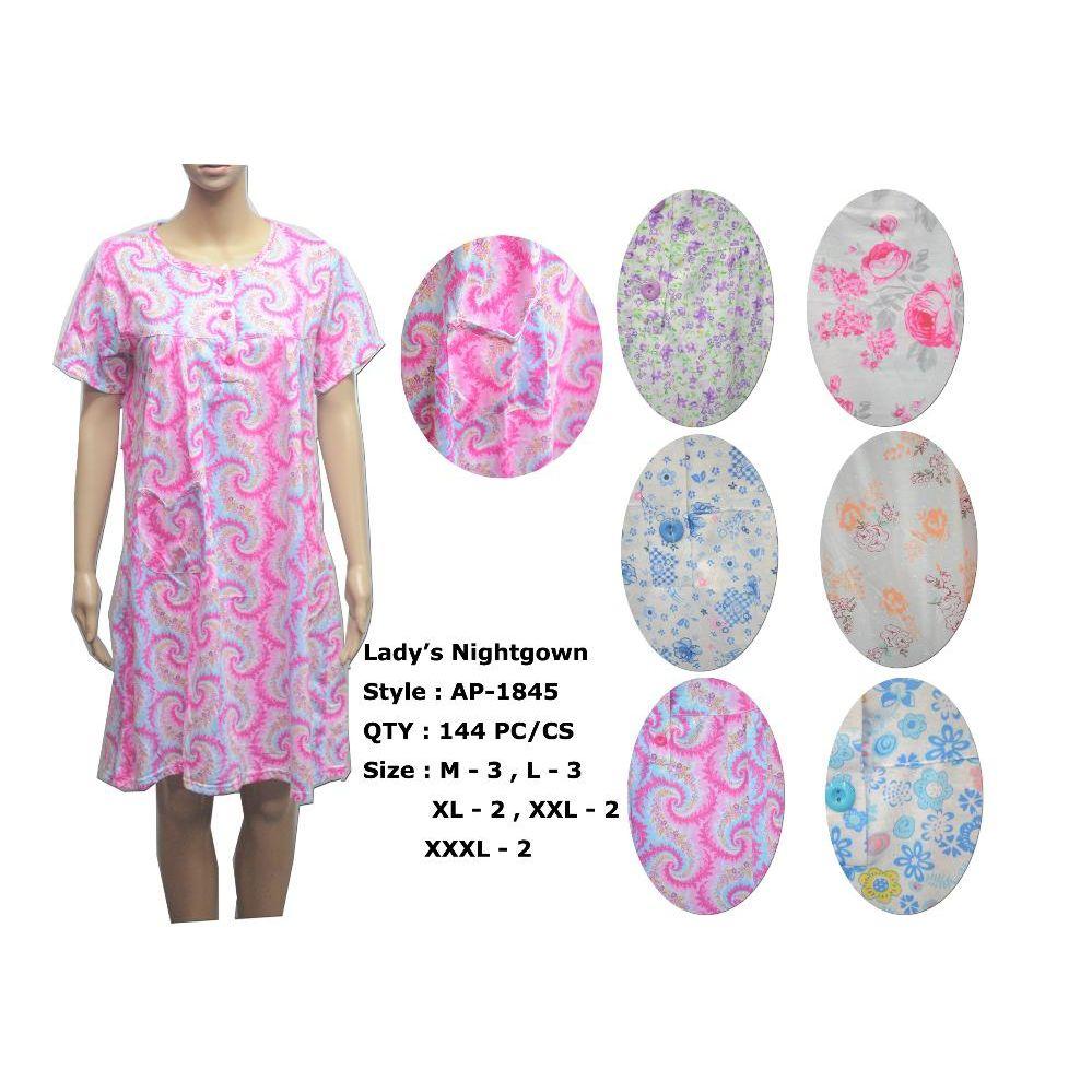 67024c6369 72 Units of Ladies Summer NIghtgown Assorted Styles - Ladies Lingerie    Sleep Wear - at - alltimetrading.com