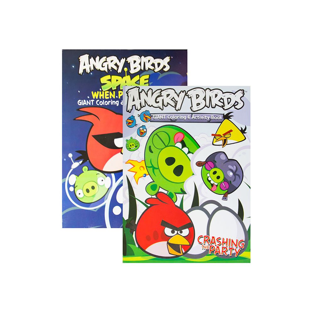 - 96 Units Of ANGRY BIRDS Coloring & Activity Book - Coloring