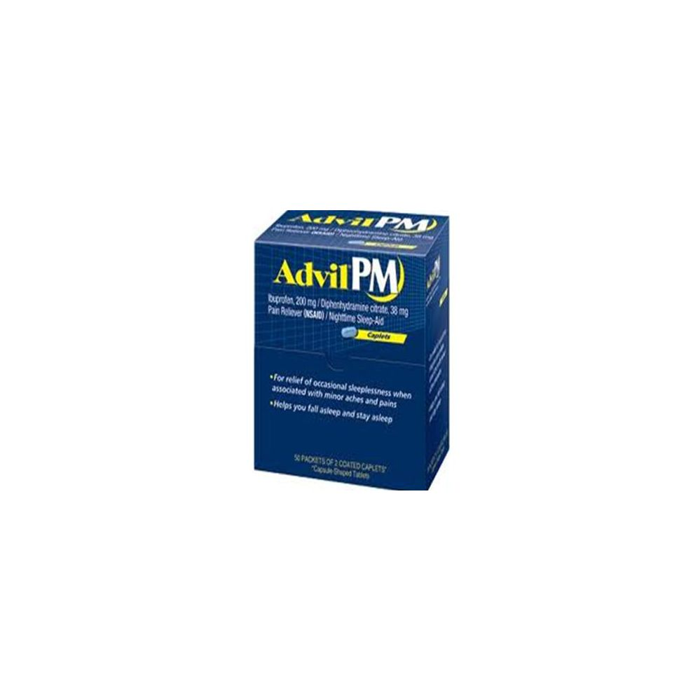100 Units of Advil PM 2 Tablet - Health / Beauty