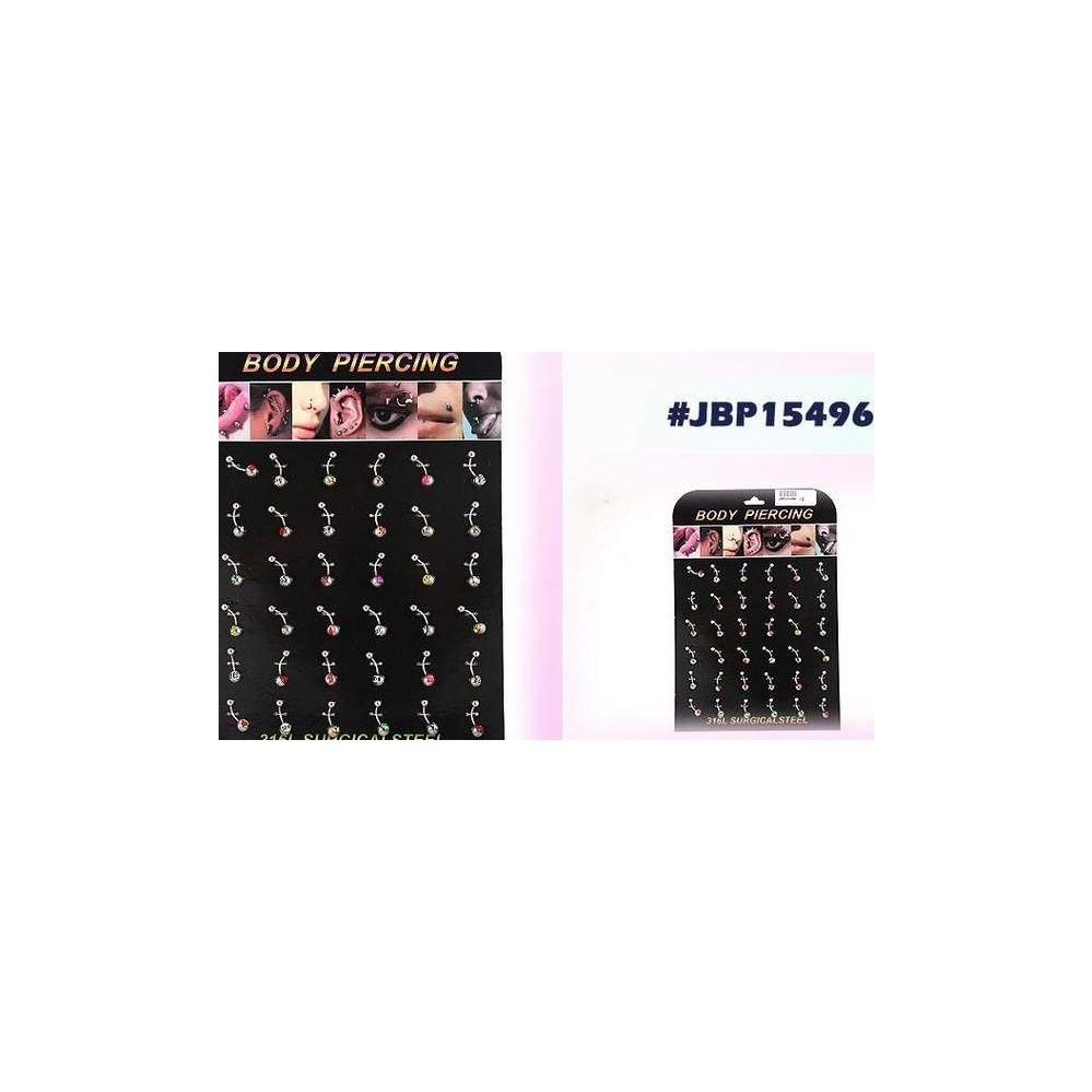 108 Units of Bodyjewelry/ Body piercing Belly Button Ring - Body Jewelry