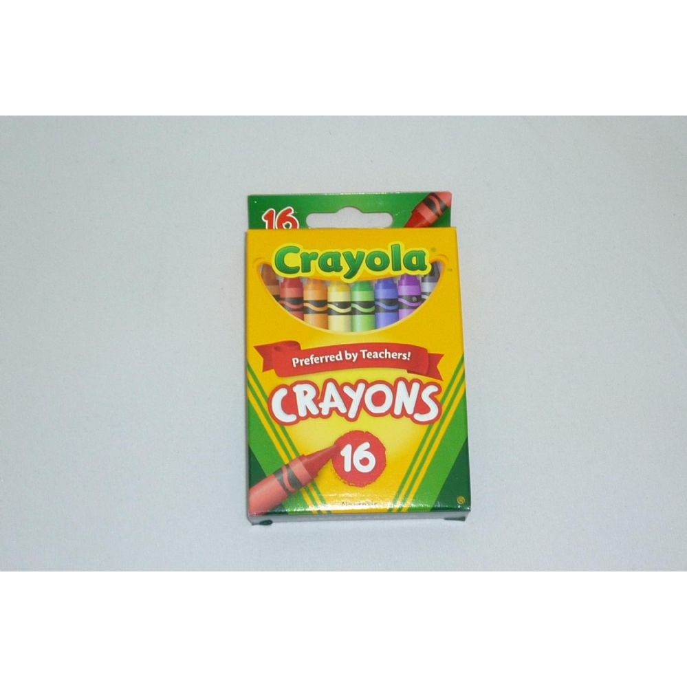 96 Units of 16ct Crayola Crayons - Chalk,Chalkboards,Crayons