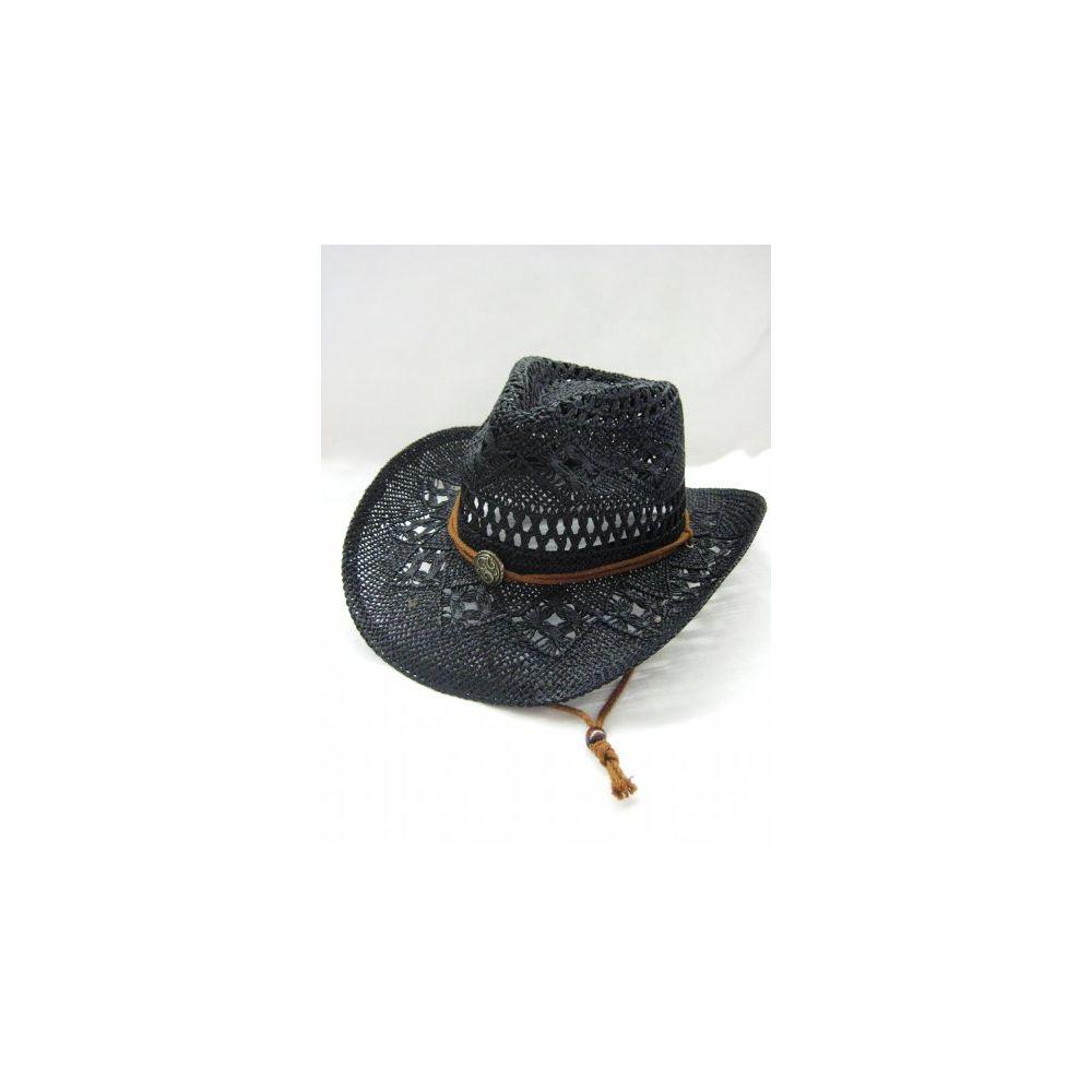 444477adc11a4 12 Units of Western Cowboy All Black Hat - Cowboy   Boonie Hat - at -  alltimetrading.com