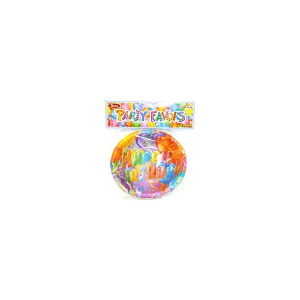 """144 Units of 8ct 6"""" Birthday Plates - Party Paper Goods"""