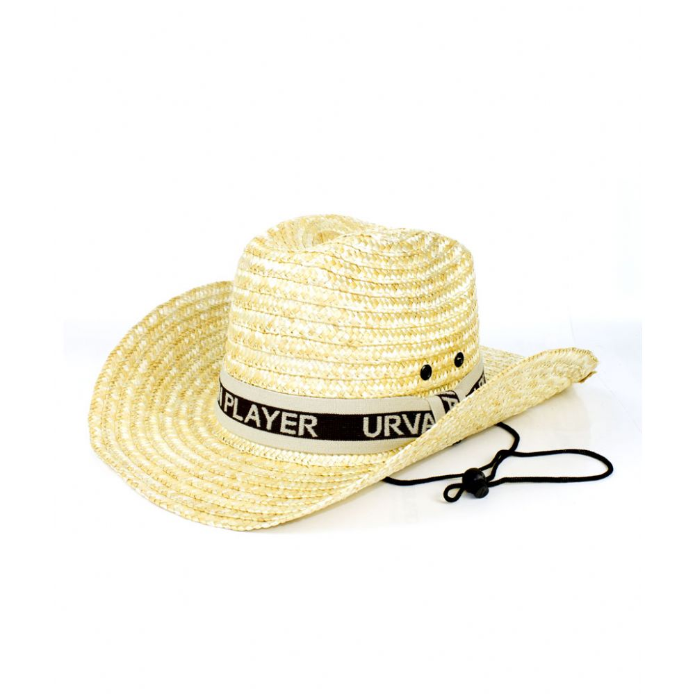 3229c99a94b82 48 Units of Straw Cowboy Hat with Strap - Costumes   Accessories - at -  alltimetrading.com