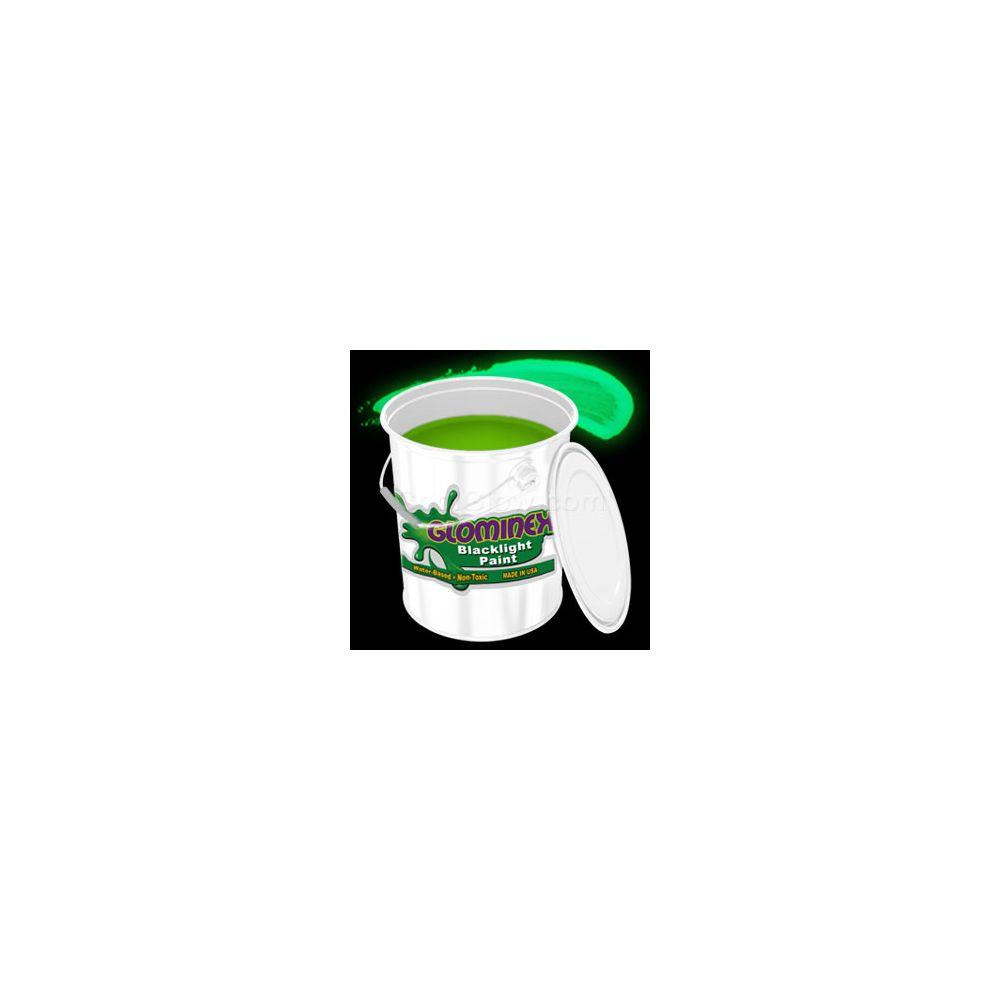 Glominex Blacklight UV Reactive Paint Gallon - Green