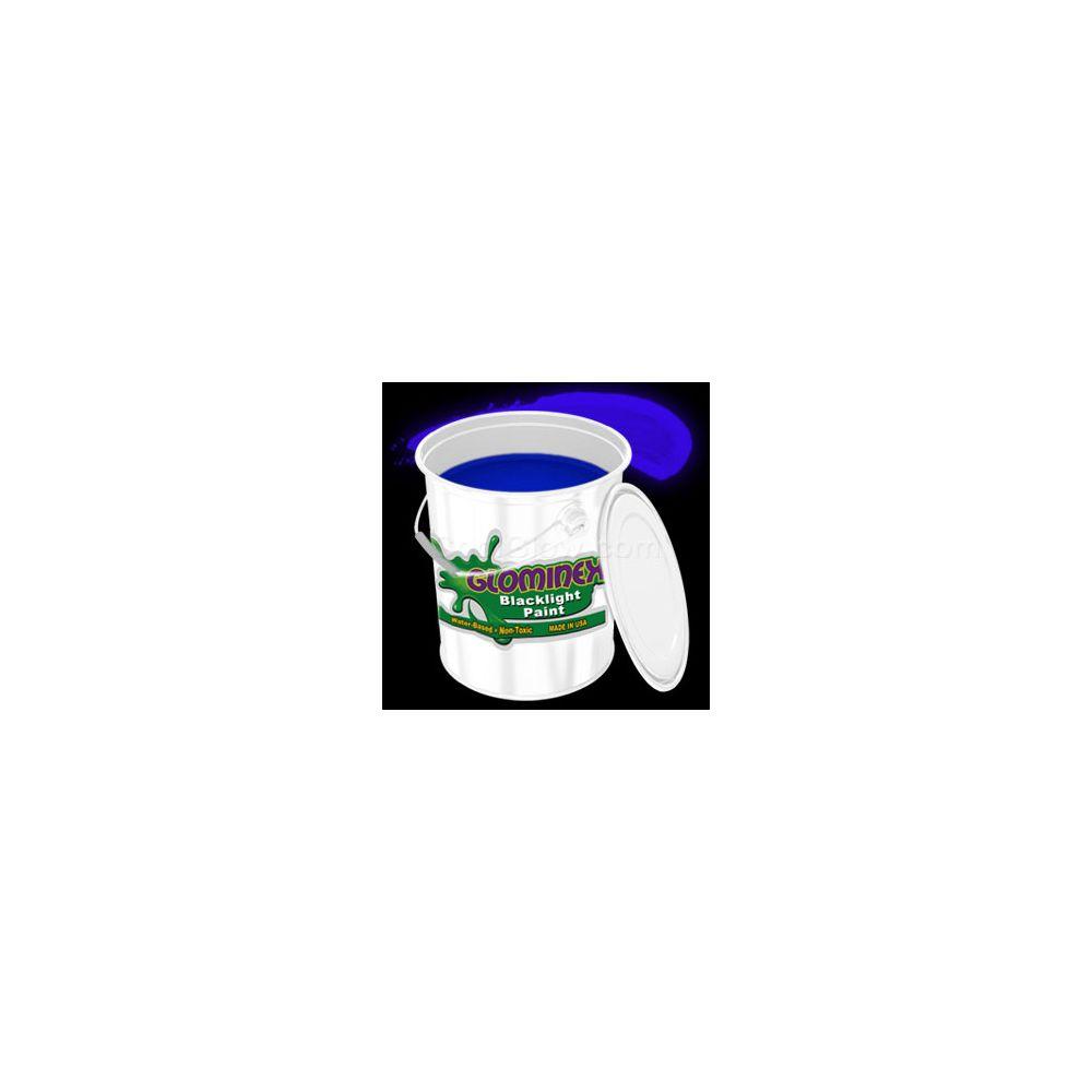 Glominex Blacklight UV Reactive Paint Gallon - Blue - LED Party Items
