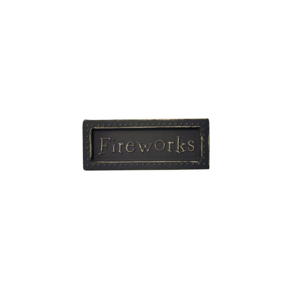 54 Units of Fireworks Mini Metal Sign Magnet