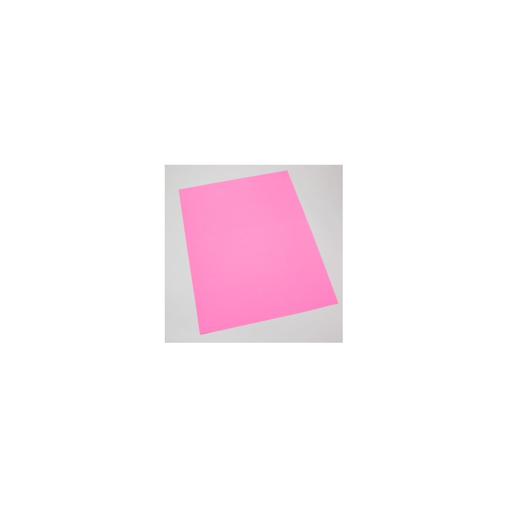 100 Units of Poster Board Flourescent Pink 22 X 28