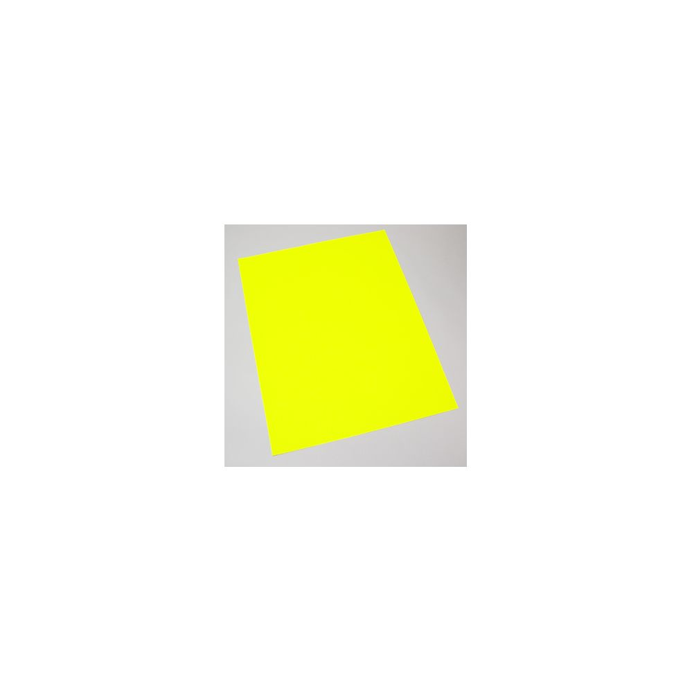 100 Units of Poster Board Flourescent Yellow Board 22 X 28