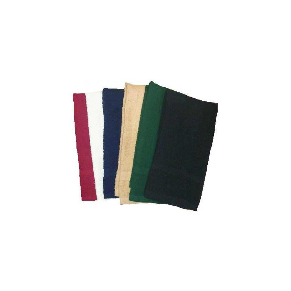 144 units of 16x27 salon solid color hand towel lb for Solid salon