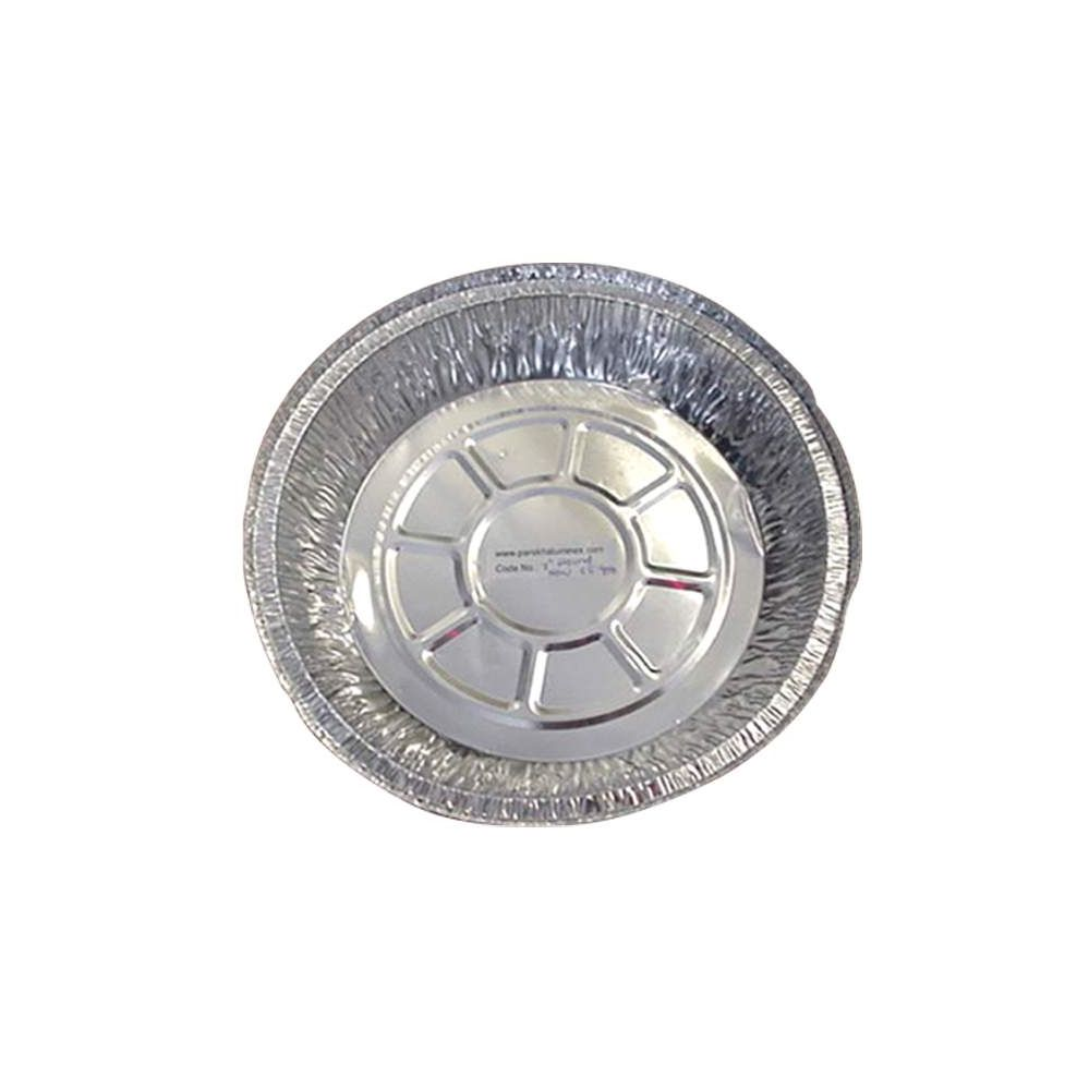 500 Units of Aluminum Round 7in - Kitchen Trays