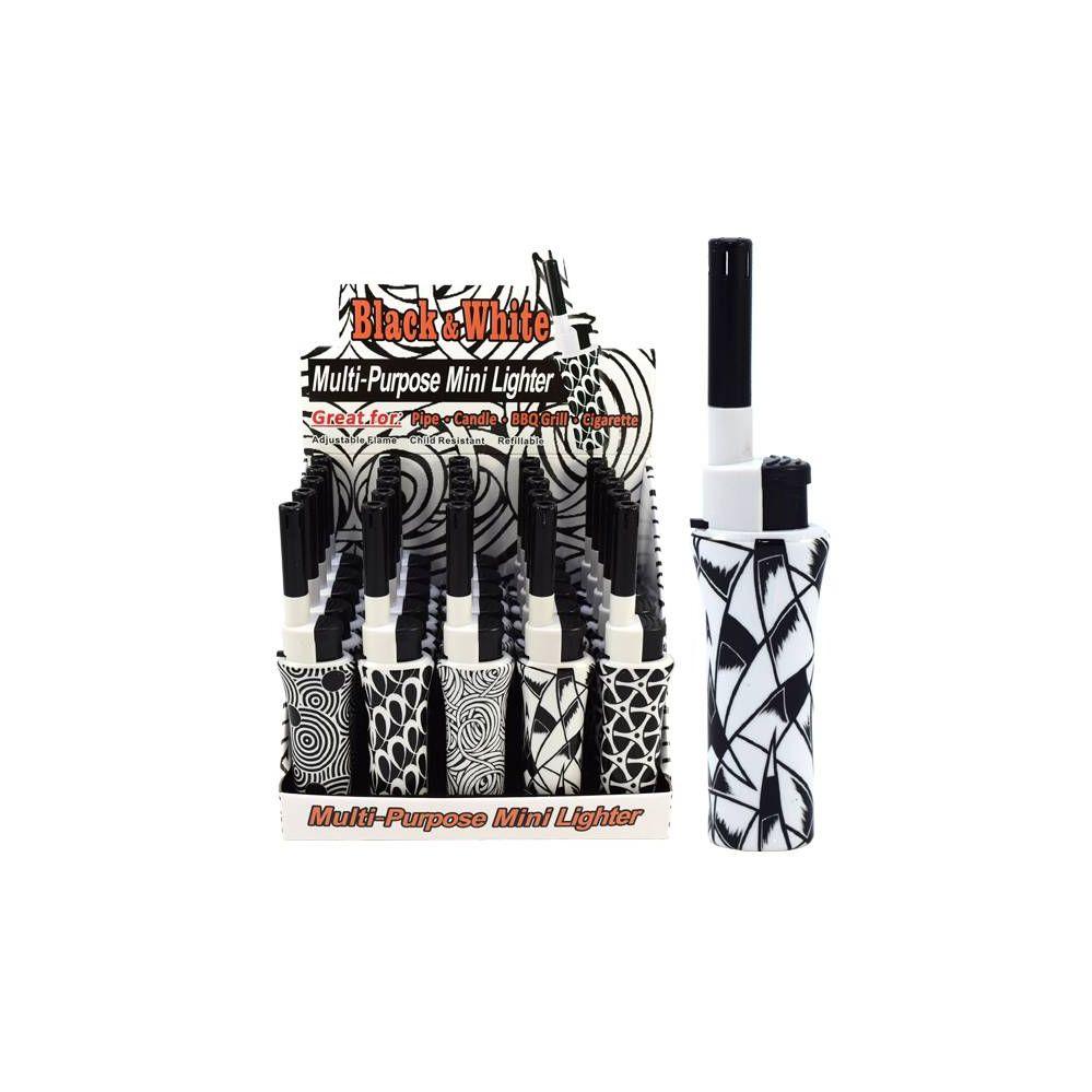 100 Units of Lighter Mini BBQ Black & White