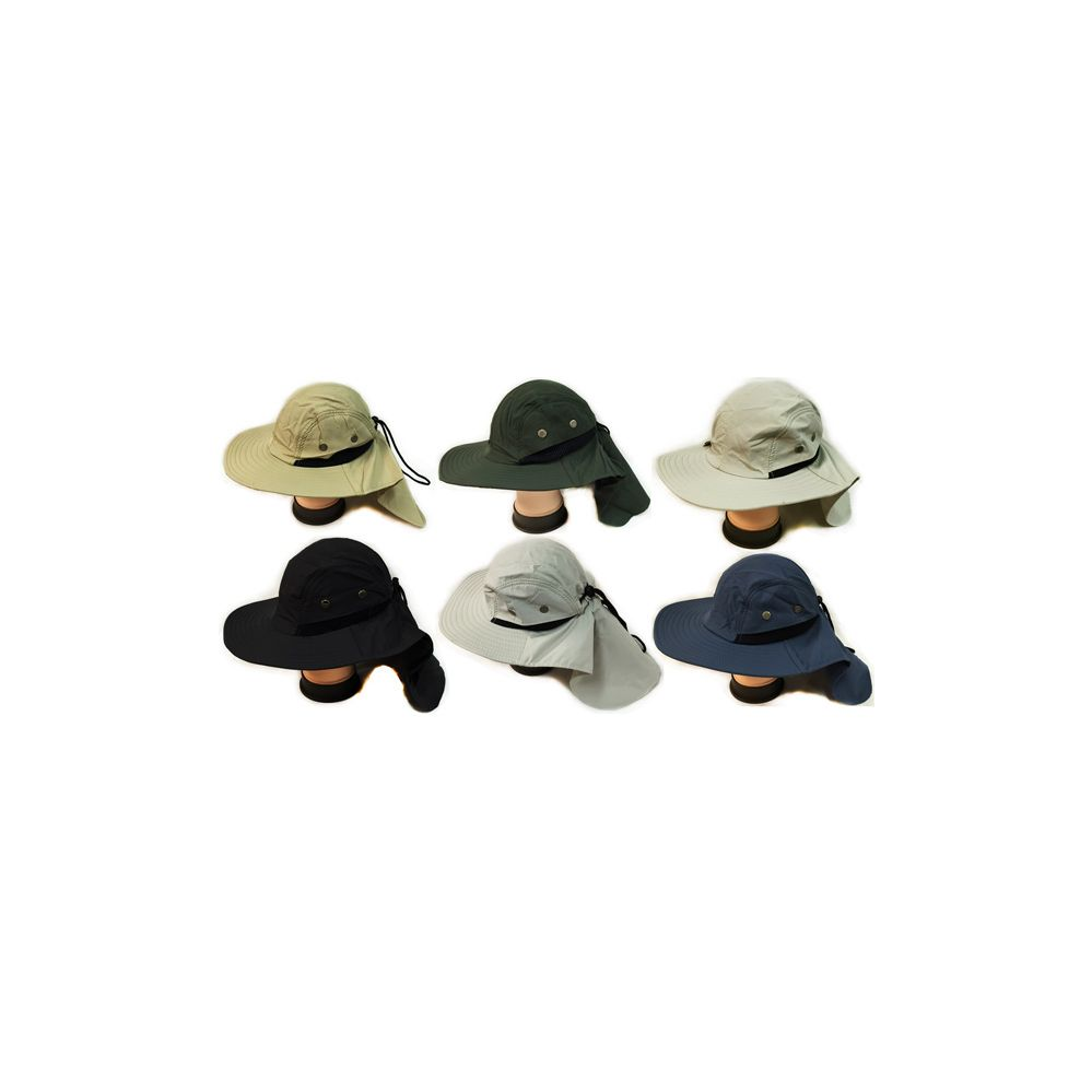 24 units of summer hunting fishing hat with neck cover for Fishing neck cover