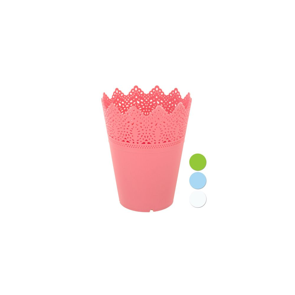 72 Units Of Decorative Small Round Multi Use Flower Pot Garden