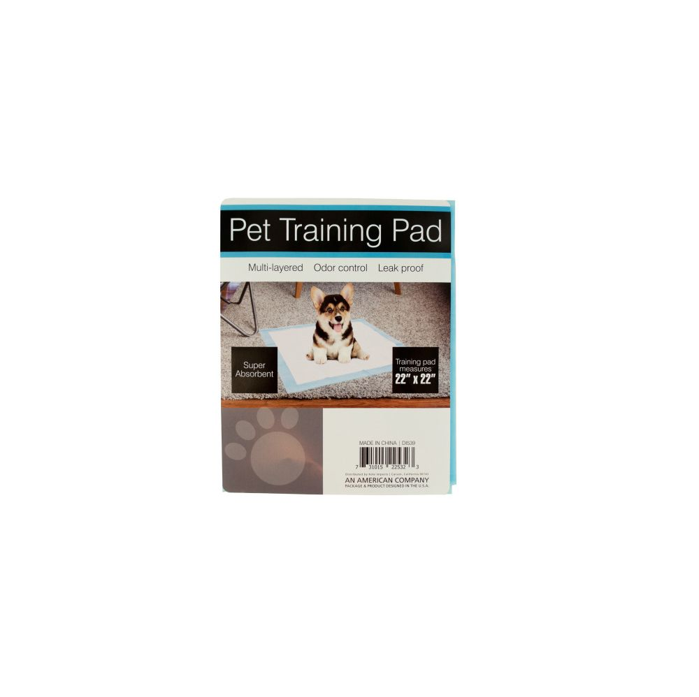 72 Units of Odor Control Pet Training Pad - Pet Grooming Supplies