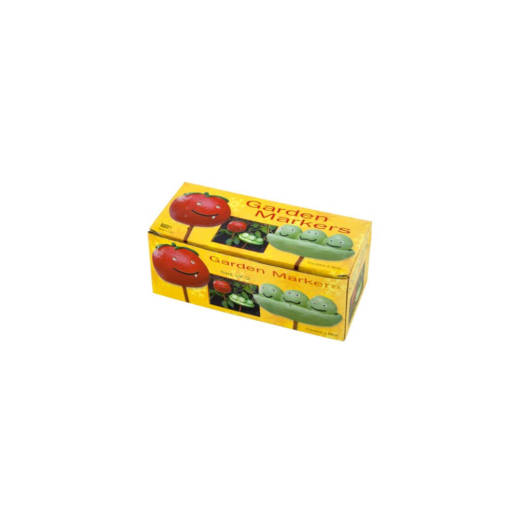 72 Units of Tomato & Peas Garden Markers Set - MARKERS/HIGHLIGHTERS