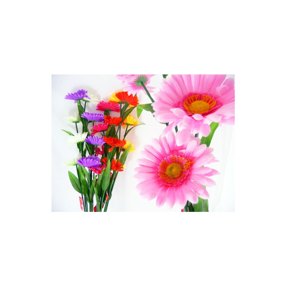 144 Units Of 4 Head Daisies Flower Bouquet Artificial Flowers At