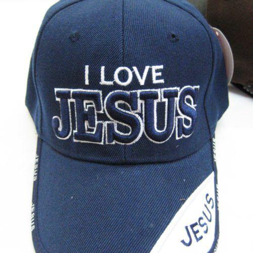 d6d70c2aed7428 36 Units of I Love Jesus Cap - Baseball Caps & Snap Backs - at -  alltimetrading.com