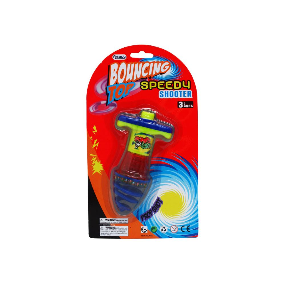 48 Units Of Light Up Bouncing Spinning Top
