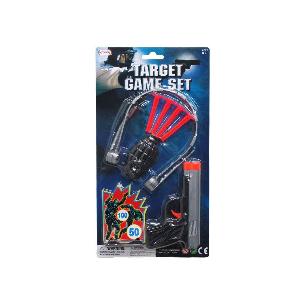 Target Toy Guns : Units of pc target game toy gun play set in blister